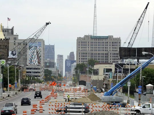 Image result for construction detroit