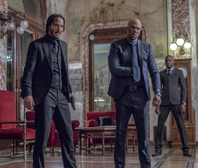Keanu Reeves And Common In John Wick Chapter