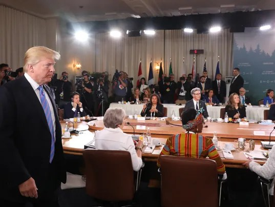 EPA CANADA G7 SUMMIT POL TREATIES  ORGANISATIONS CAN QU