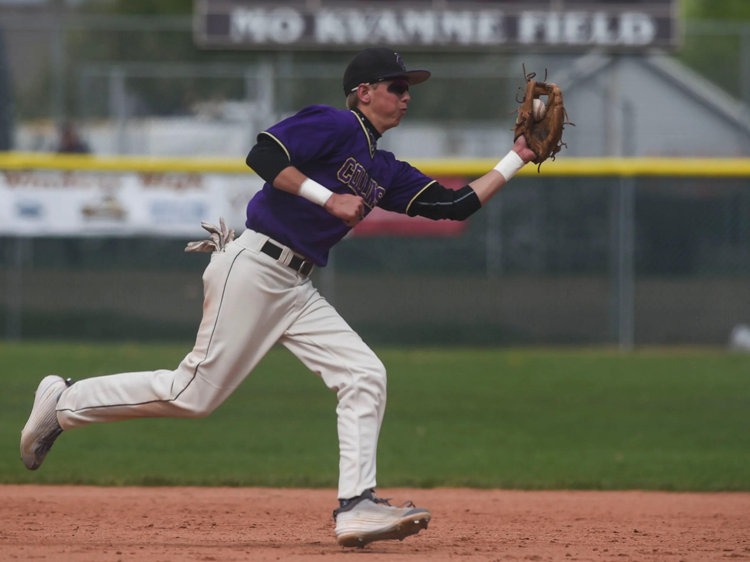Fort Collins High School baseball player Jacob Moyer ...