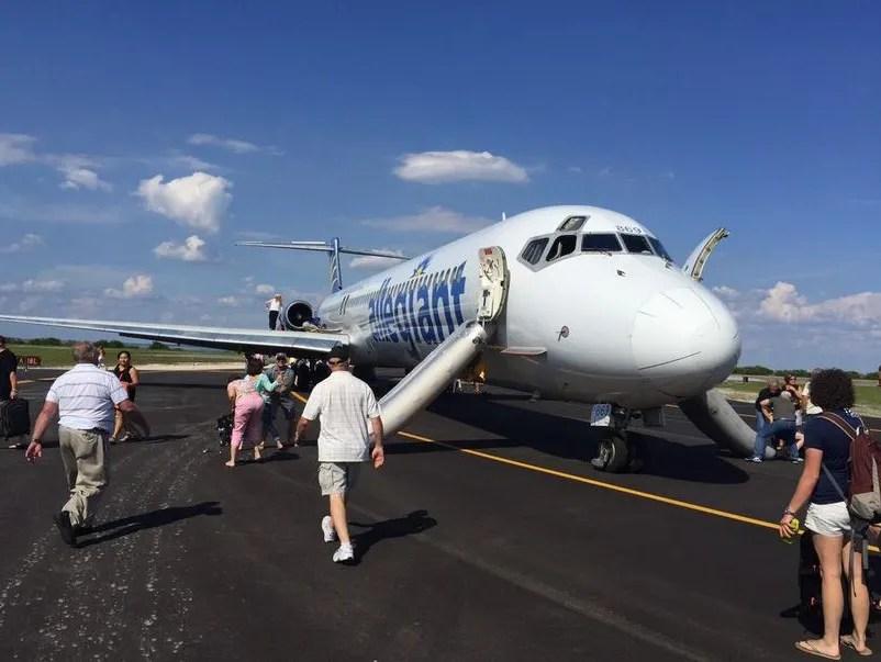 Allegiant Plane Makes Emergency Landing