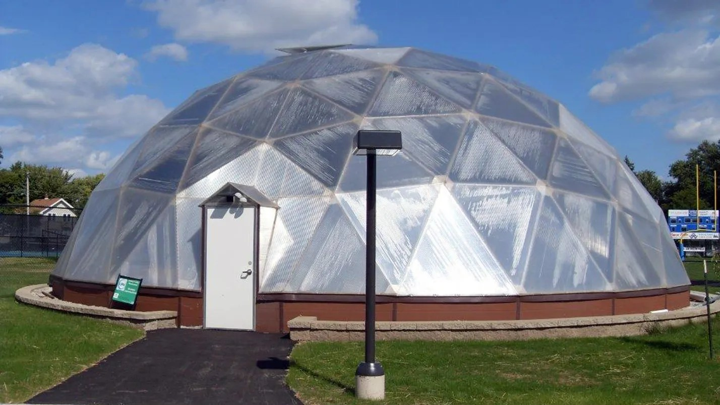 Watchdog Q Amp A Geodesic Dome Functions As Greenhouse
