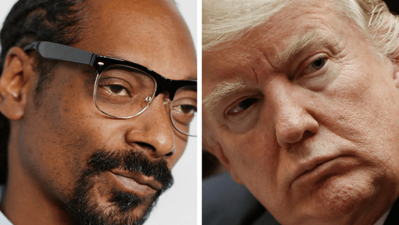 Image result for snoop dogg shoots trump
