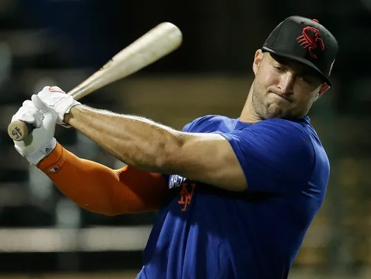 Image result for tim tebow baseball
