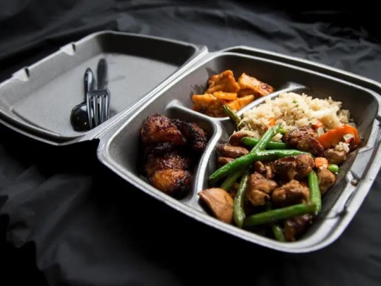 Polystyrene containers will soon be banned in Leonia.
