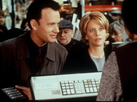 Tom Hanks and Meg Ryan in the film 'You've Got Mail.'
