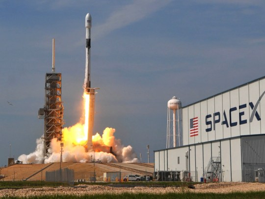 The first SpaceX Falcon 9 Block 5 rocket launches the