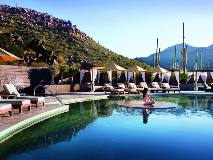 The Spa Serenity Pool at the Ritz-Carlton Dove Mountain
