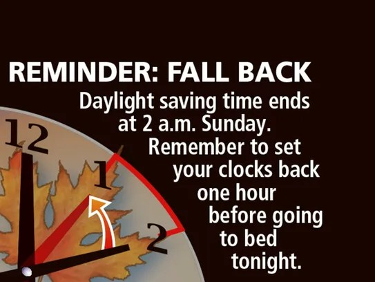 Fall Back Daylight Savings Funny