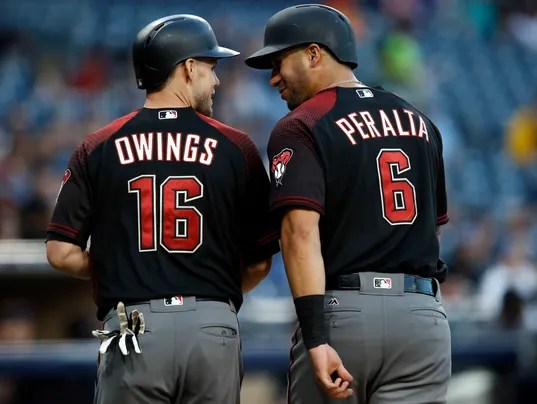 Chris Owings, David Peralta
