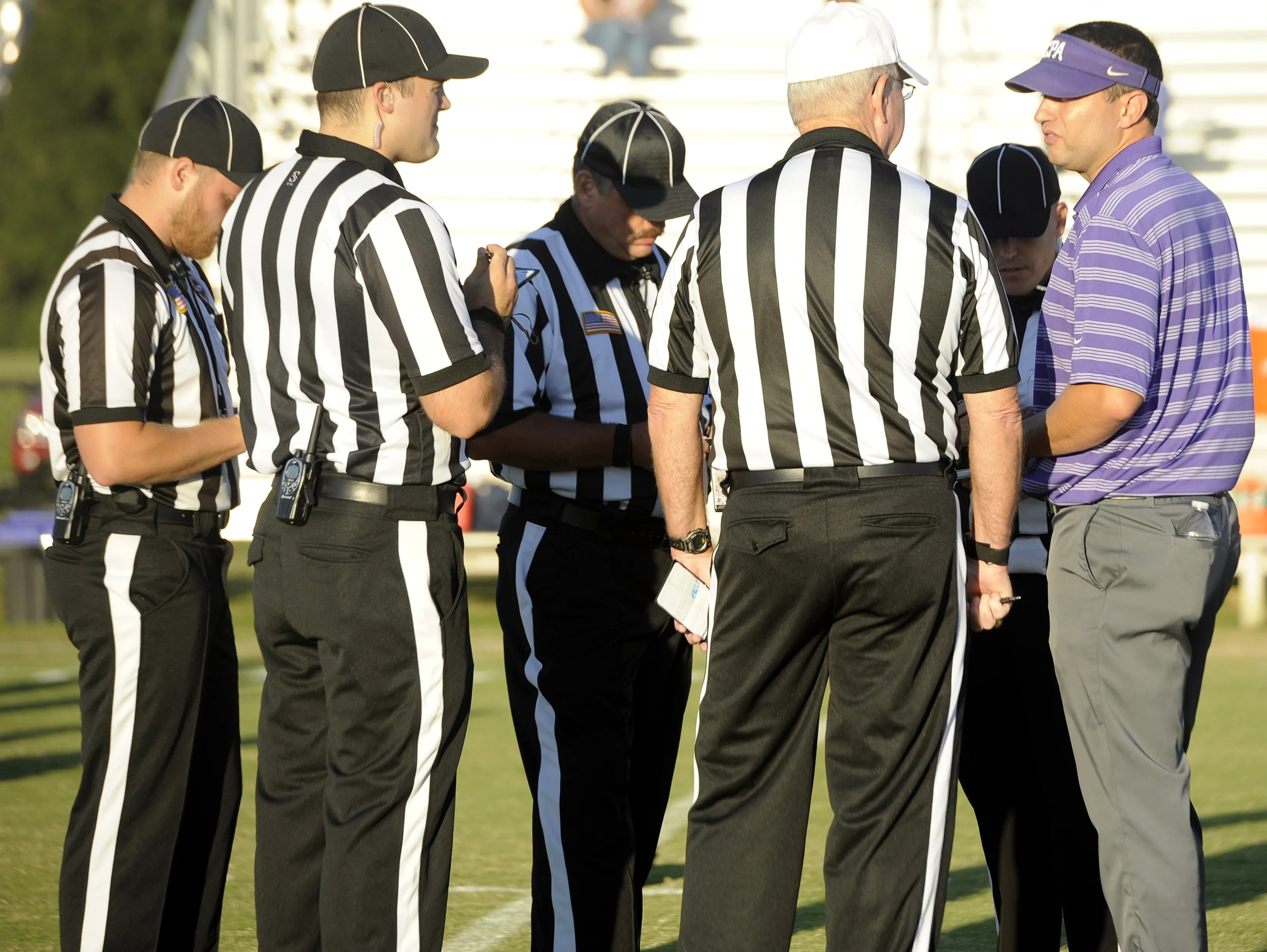 Tennessee High School Referee Shortage Causes Concern Usa Today