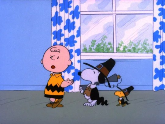 """""""A Charlie Brown Thanksgiving"""" is a great movie to"""