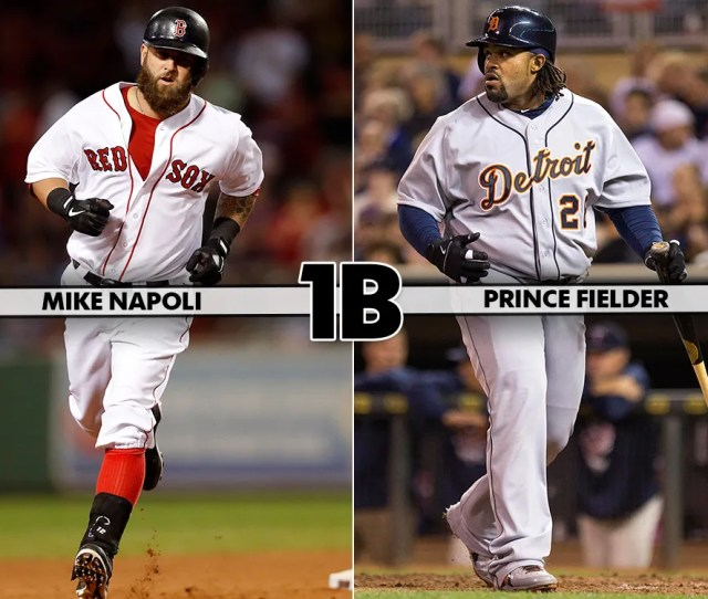Prince Fielder Has A Better Resume Than Mike Napoli But Both Had Similar Seasons In