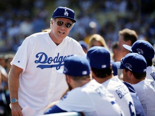 Ferrell was talking to the Los Angeles Dodgers before