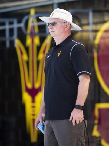 Bob Bowman began coaching at Arizona State in 2015.