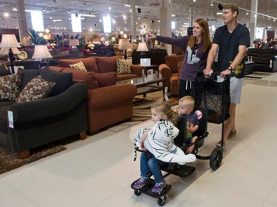 Furniture Warehouse CEO Sees Opportunity In Valley