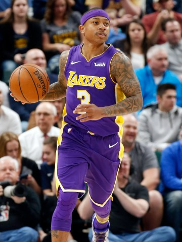 Isaiah Thomas played 32 combined games for the Cavaliers