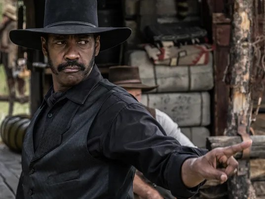 Image result for magnificent seven denzel