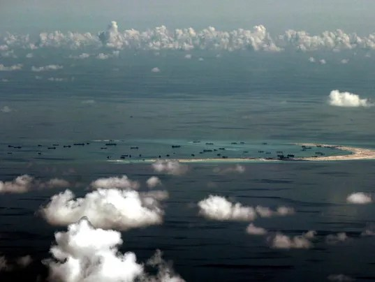 EPA FILE PHILIPPINES CHINA SOUTH CHINA SEA CONFLICT POL DEFENCE PHL PA