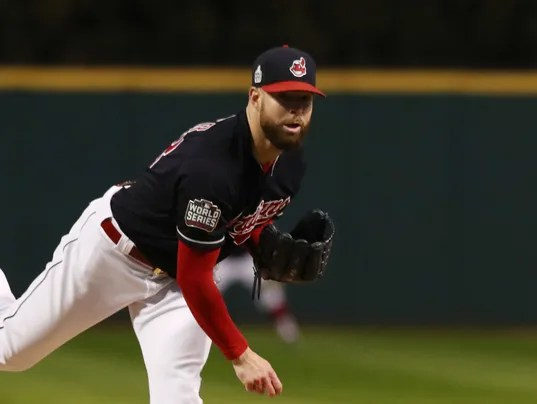 Image result for corey kluber world series