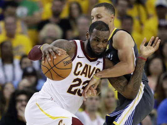 LeBron James,Stephen Curry