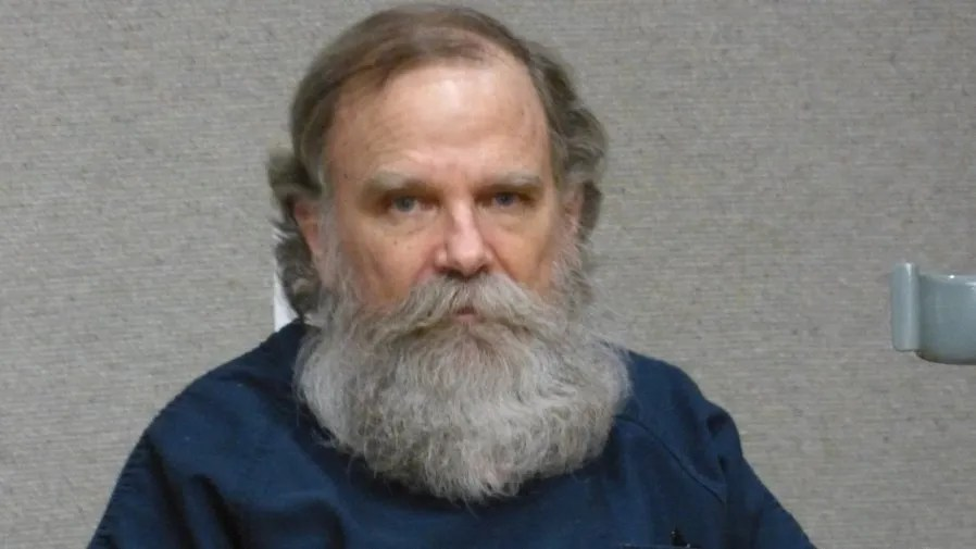 Michael Donald Ackley, who is charged with murder and attempted murder, is shown Friday in Shasta County Superior Court where his murder trial was delayed.