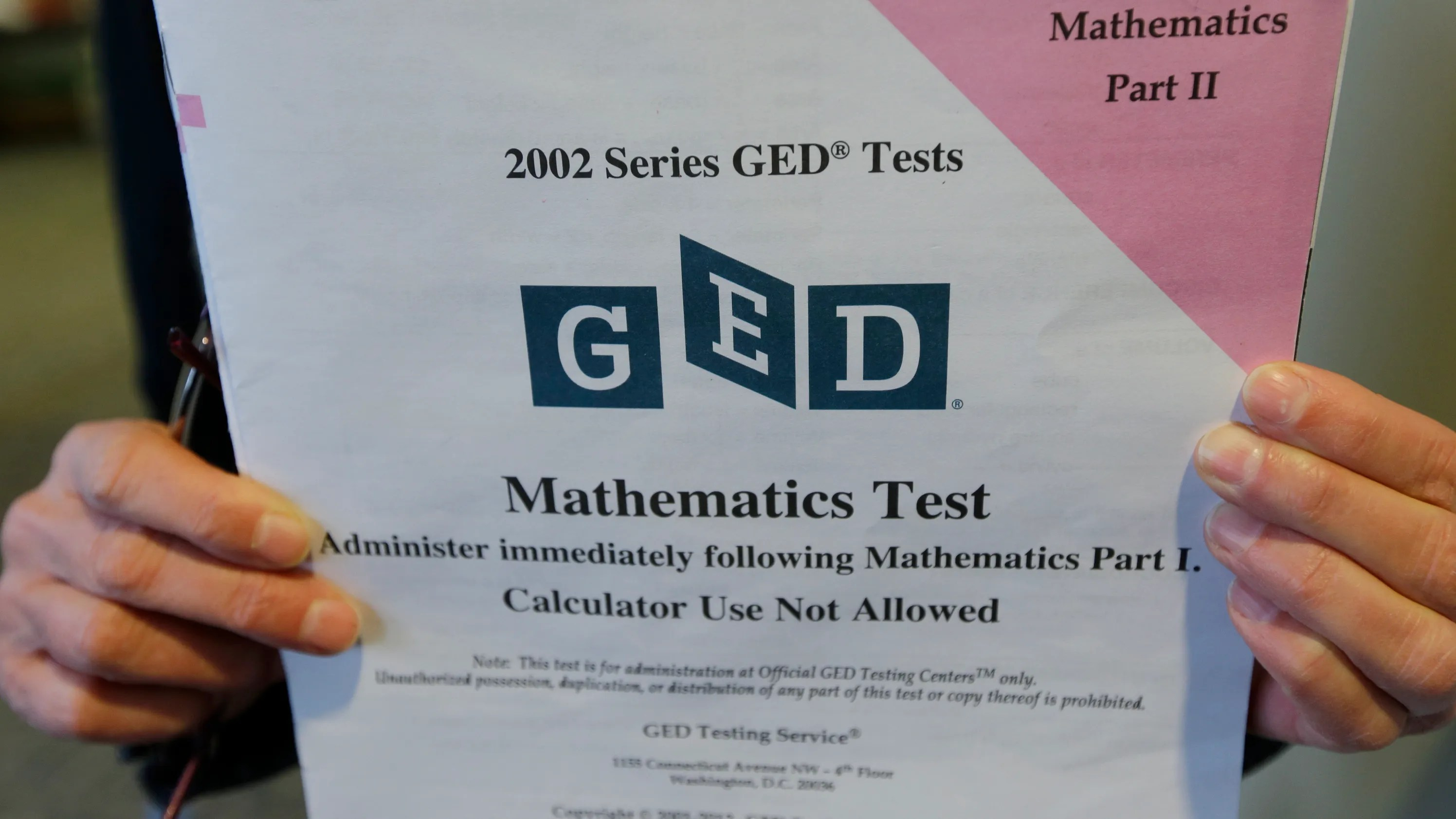 Bill Would Provide Diploma Alternative To Ged Test