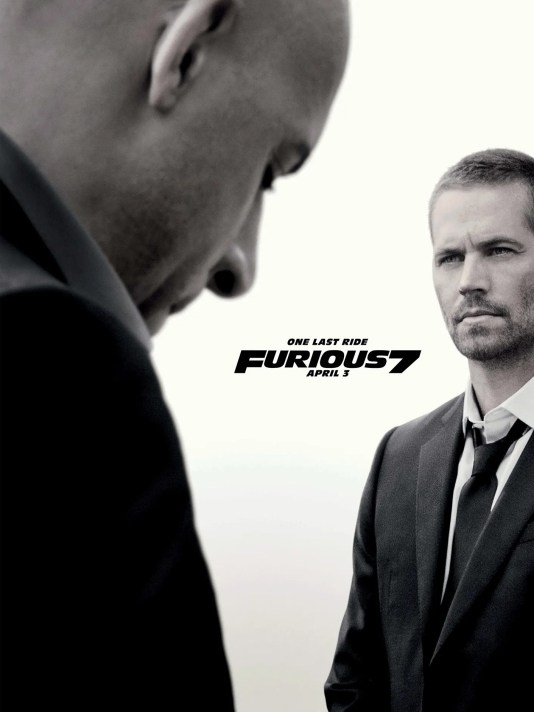 Image result for locandina USA del film fast & furious 7