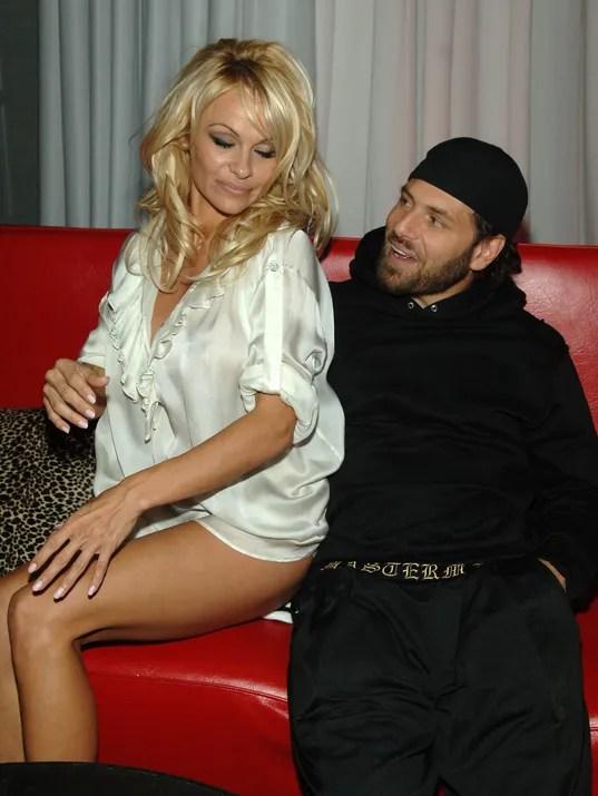 Pamela Anderson Rick Salomon
