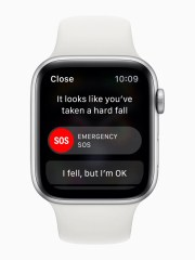 The new Apple Watch Series 4 can detect a fall and