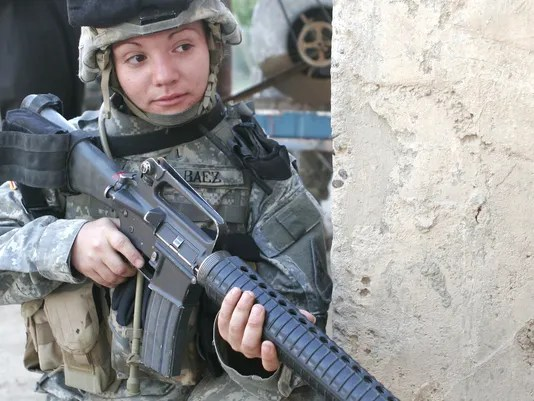 combat jobs opened to women