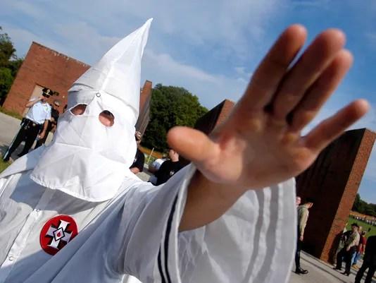 Klu Klux Klan member