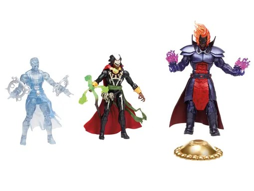 Doctor Strange (in astral form), Brother Voodoo and
