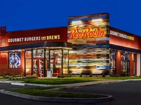 Restaurante Red Robin Gourmet Burgers.