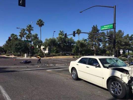 Fatal motorcycle crash in Gilbert