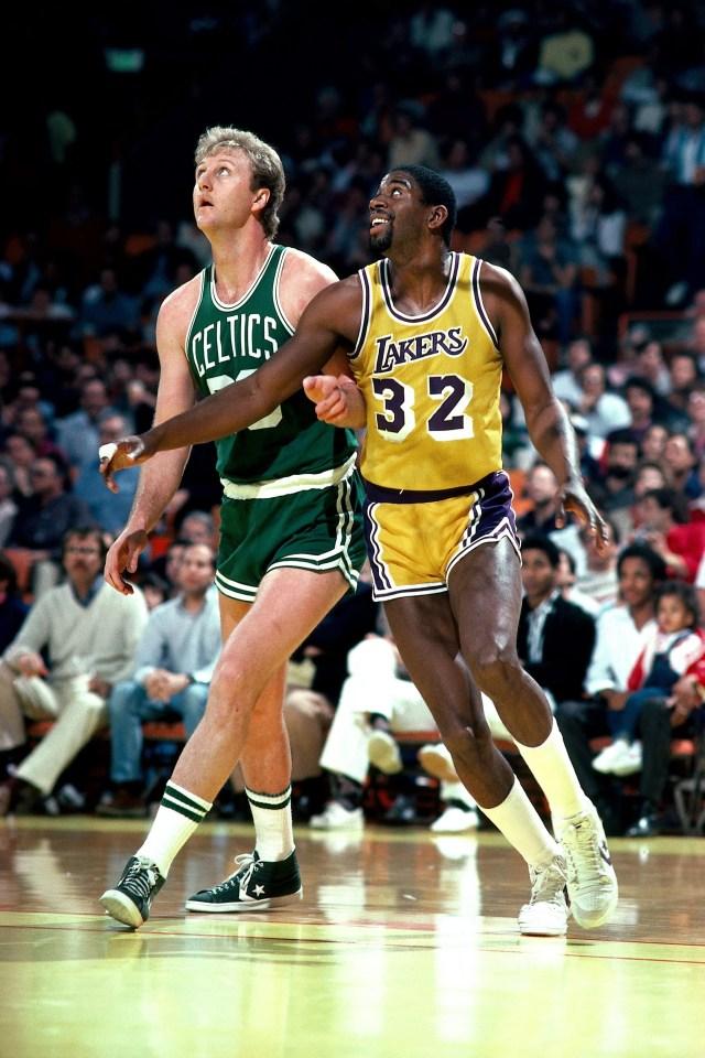 Magic Johnson, Larry Bird recipients of NBA's Lifetime Achievement Award