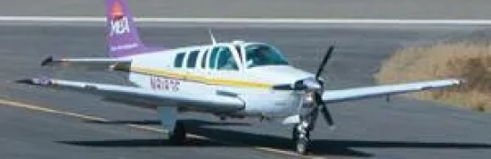 Bonanza Beechcraft, like this one in New Mexico in 2008, went missing on Lake Michigan on Sunday, 12 May, 2019.
