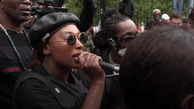 Black Lives Matter activist Sasha Johnson shot in the head in London