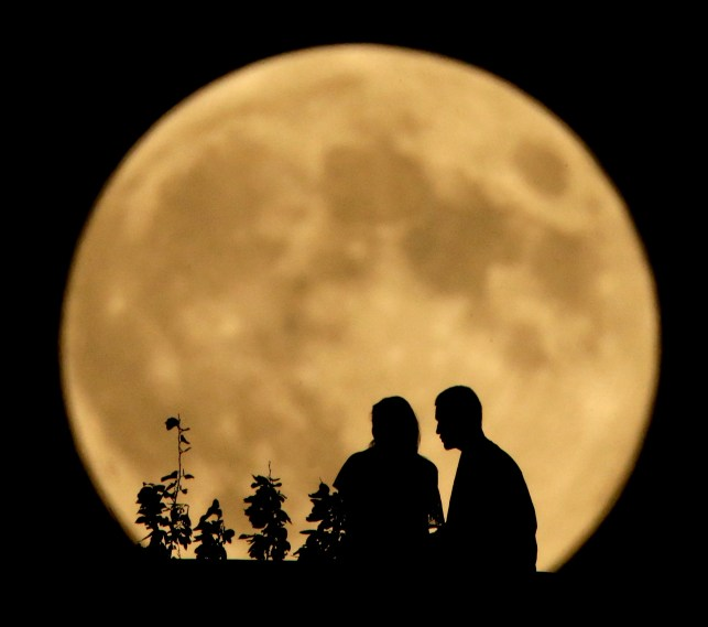 A full harvest moon is coming Friday the 13th. Here's why it'll look smaller than normal