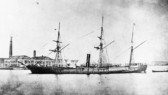 The second USS Detroit also started out with a different name: The USS Canandaigua, a sloop of war launched in the midst of the Civil War. It was designed to help the Union choke off Confederate ports. With a shallow draft, the Canandaigua could reach places other ships could not. The Canandaigua was renamed the USS Detroit in 1869 and served the states for another six years until decommissioning.