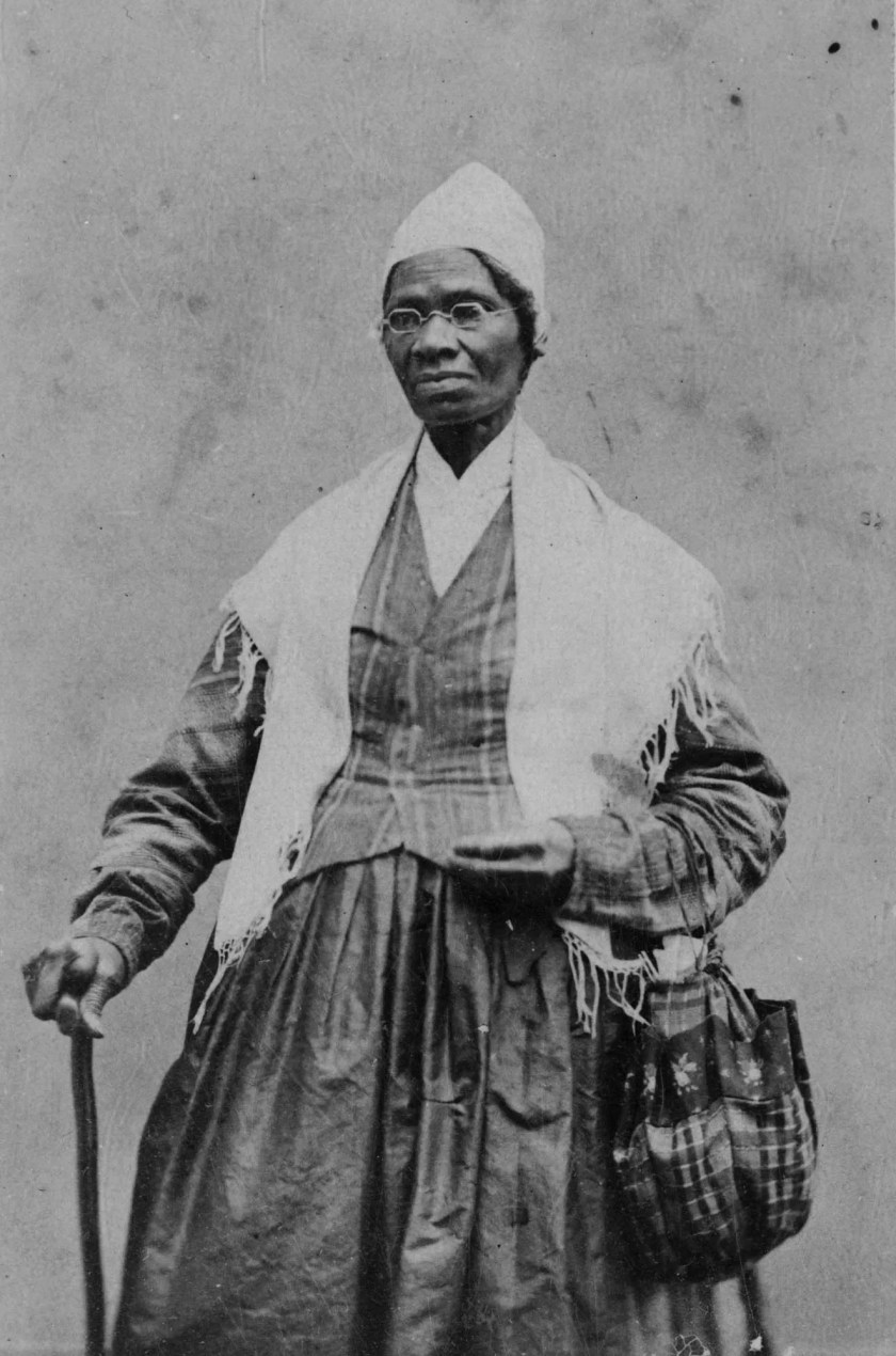 A charismatic speaker and preacher who never learned to read or write, Sojourner Truth traveled throughout the North preaching human rights and women's rights.