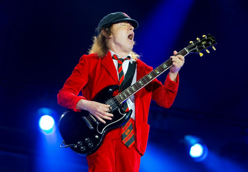 In a&nbsp;2014 Reddit AMA,&nbsp;AC/DC's Angus Young described the time&nbsp;his guitar amplifier caught on fire while he was recording his the solo for 1977's &quot;Let There Be Rock.&quot; &quot;Yes, it was on fire and I had to keep playing until the end, because my brother was in the control room, and yelling out 'KEEP GOING!' &ndash; so I had to keep going until the thing kind of went into meltdown,&quot; he wrote. &quot;And on this album, 'Rock or Bust,' we had the same thing ... my amp just went on fire. And I didn't even know! I thought it was a cigarette going. But (producer Brendan&nbsp; O'Brien) was shouting out, 'Ang, you're on fire!' &quot;<br /> &nbsp;