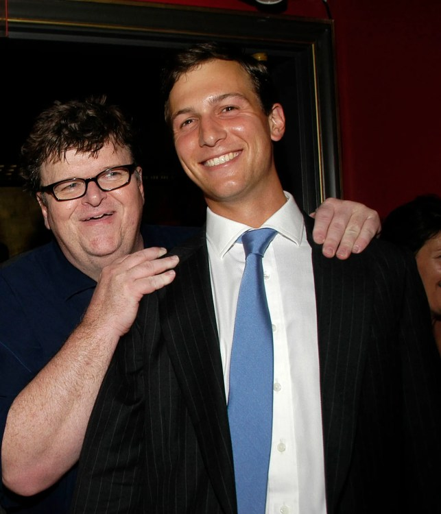 Michael Moore on how we're like Nazi Germany, why Trump could 'absolutely' be re-elected