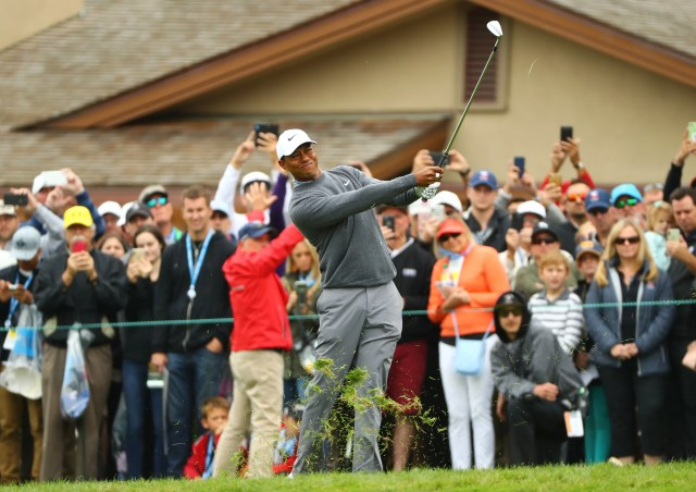 usatsi_12902510 Tiger Woods falls out of U.S. Open race with Saturday 71 at Pebble Beach