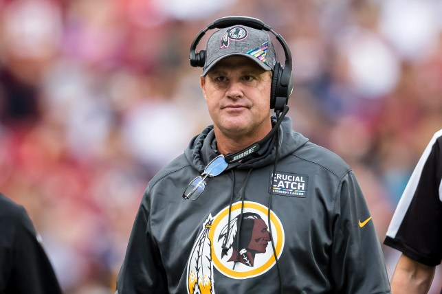 Jay Gruden faces uncertain Redskins future: 'If the key works on Monday, I'll keep working'