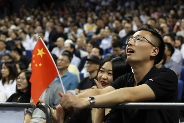 NBA plays game in China amidst recent controversy