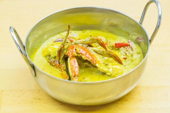 Phuket style crab curry at Luv2eat Thai Bistro