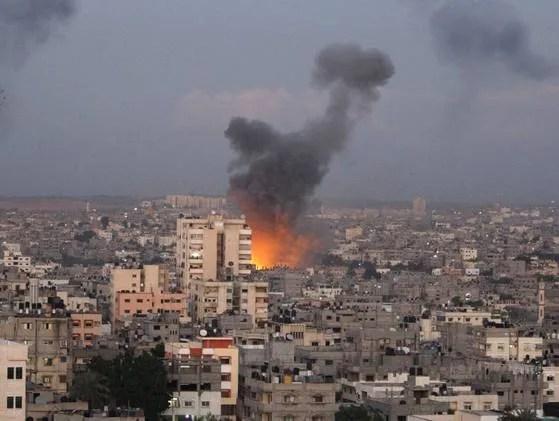 israil_strike_on_gaza