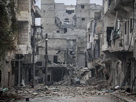 Syria battles