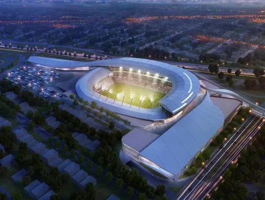 Proposed New York Cosmos Stadium